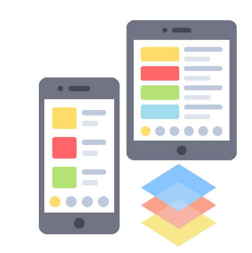 An image representing one of the features offered by Technotery as part of its Mobile Apps Solutions which is captivating UI-UX Design